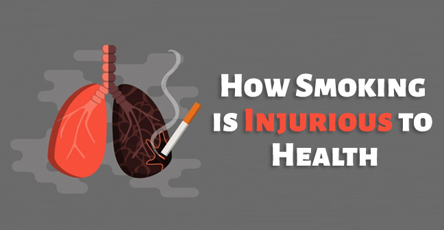 How Smoking is Injurious to Health and Process to Quit it!