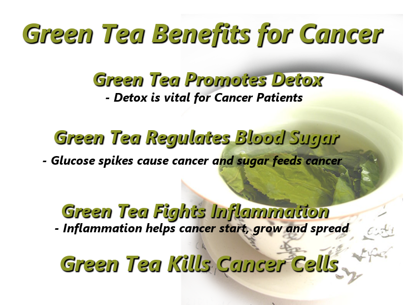 does green tea causes or cure cancer