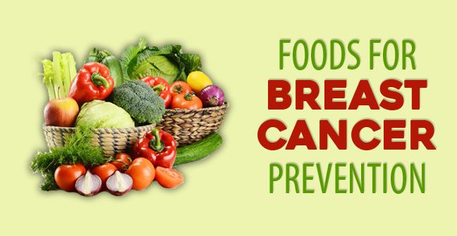 foods for breast cancer prevention